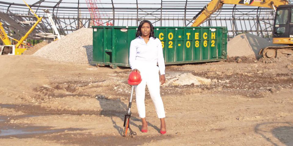 Louisville woman changing the construction industry