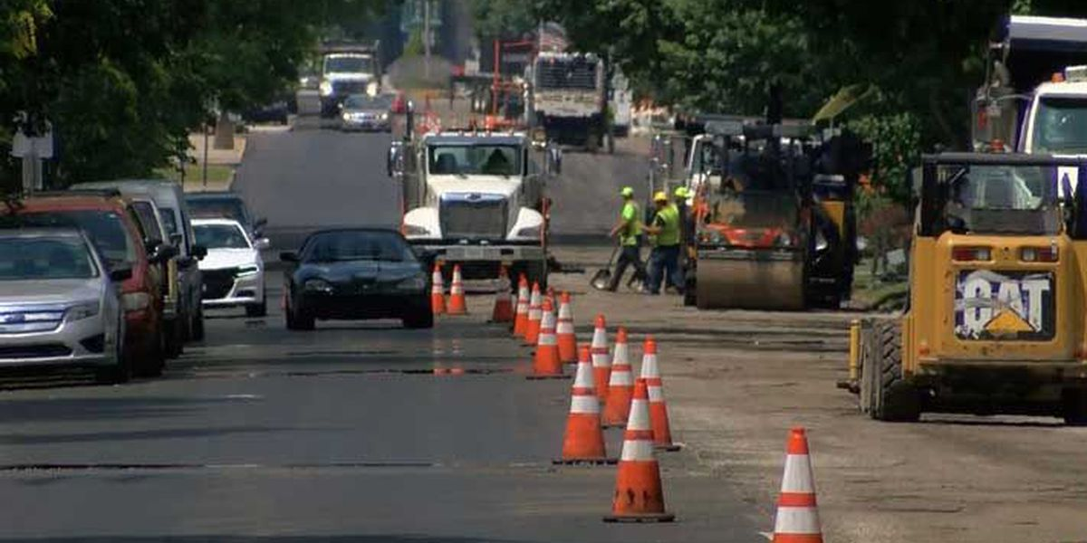 New Albany two-way street conversion project ahead of schedule