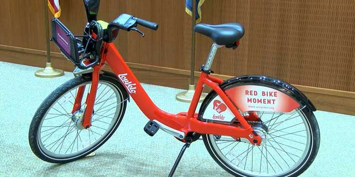 New bike sharing program launches in Louisville