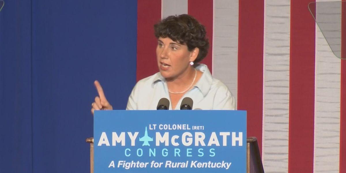 McGrath fundraising tops $10 million in Senate race