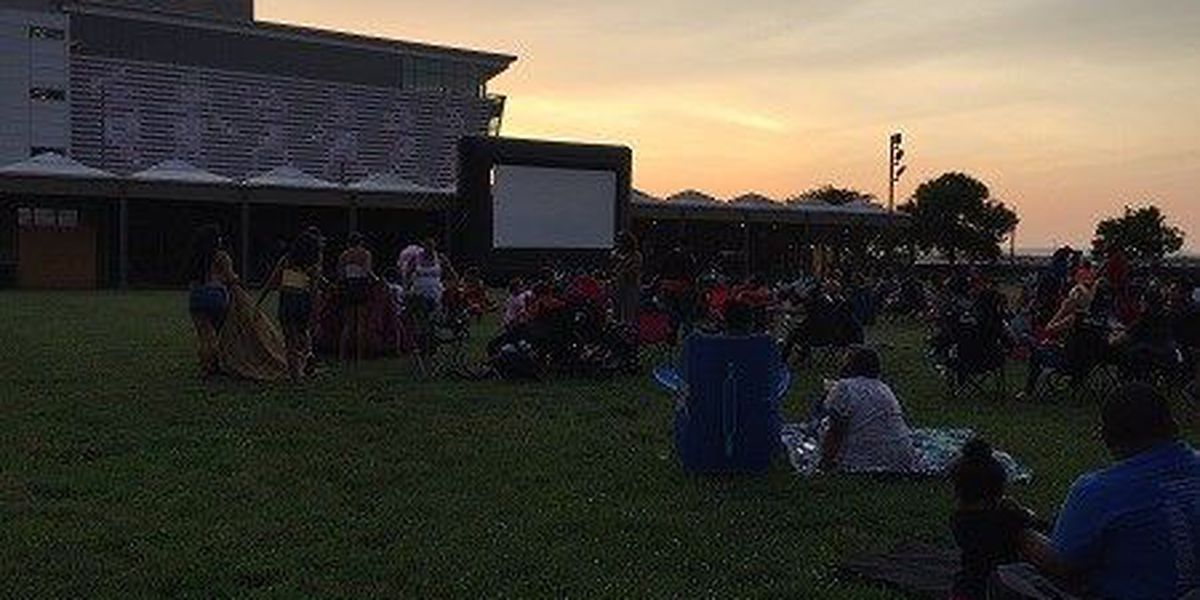 Enjoy free movies on the Belvedere this summer