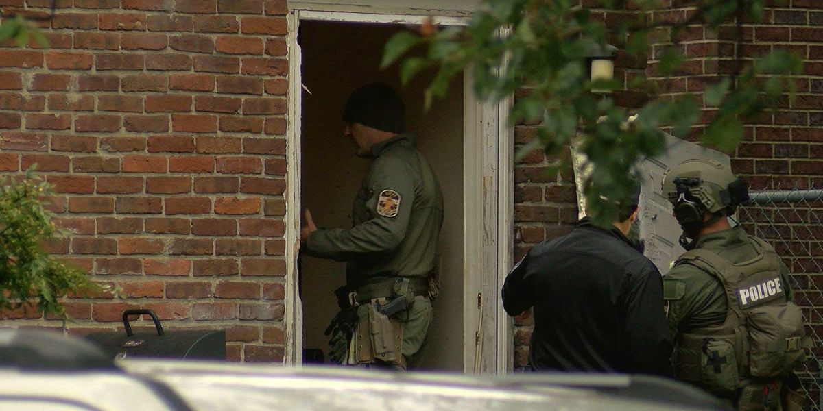 Police search for home invasion suspects