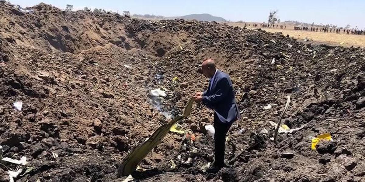 All 157 aboard, including 8 Americans, killed in plane crash over Ethiopia