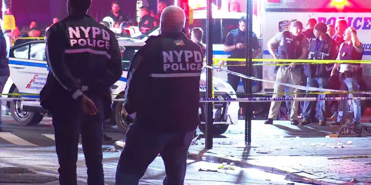 Officer stabbed, 2 shot in Brooklyn, hours into NYC curfew