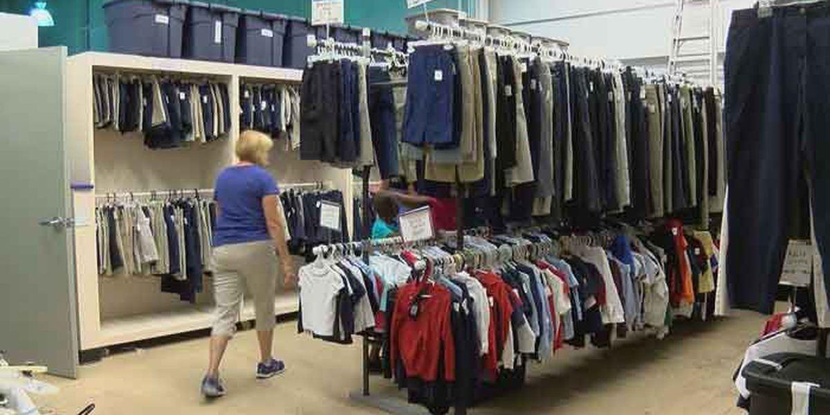 JCPS clothing blitz underway