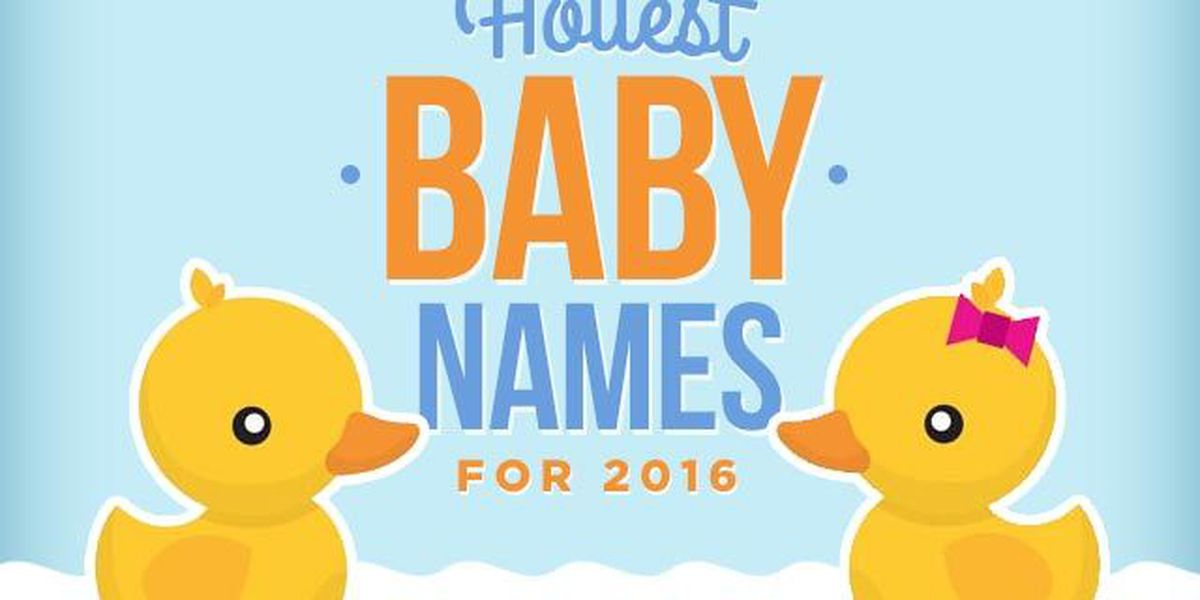 LIST: The hottest baby names for 2016 (so far)