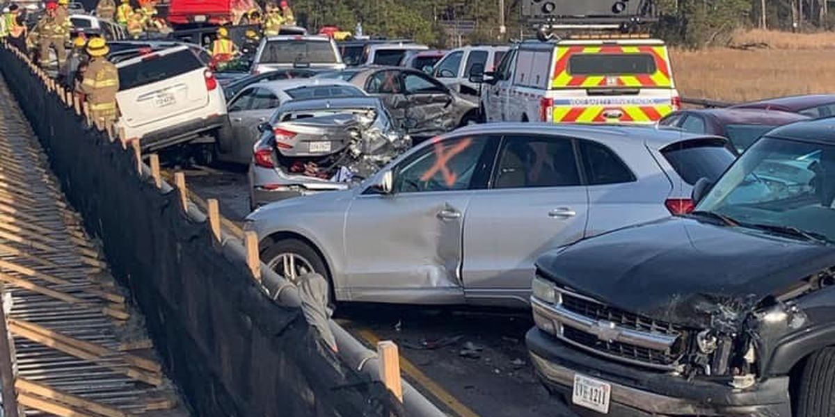 Sixty-nine-vehicle pileup in Virginia injures more than 50