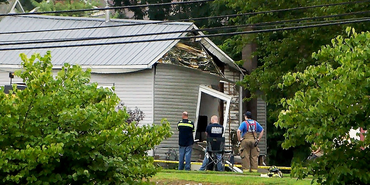 Victims in Meade County home explosion identified; 3 still in ICU