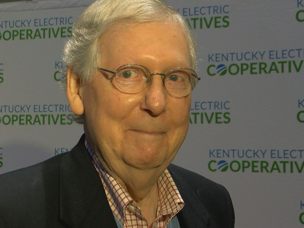 McConnell discusses impeachment, gubernatorial race