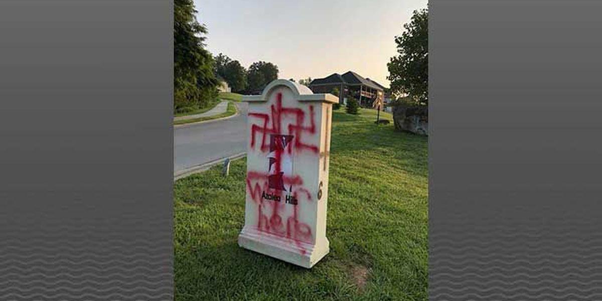 Police investigating swastika graffiti at IN retirement community