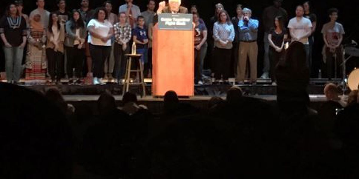 """Sanders, Perez """"Come Together and Fight Back"""" in Louisville"""