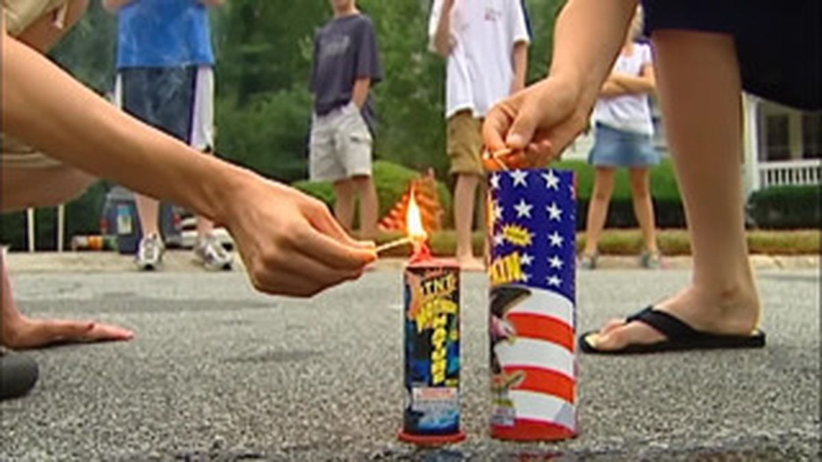 More fireworks in Americans' hands for July 4 raises risks