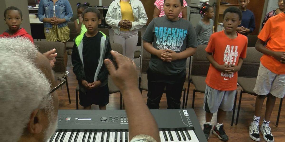 Summer camp focuses on etiquette, curating music skills in West Louisville kids