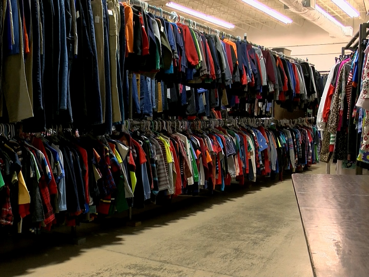 Annual 'Take What You Can Tote' event gives clothes to those in need