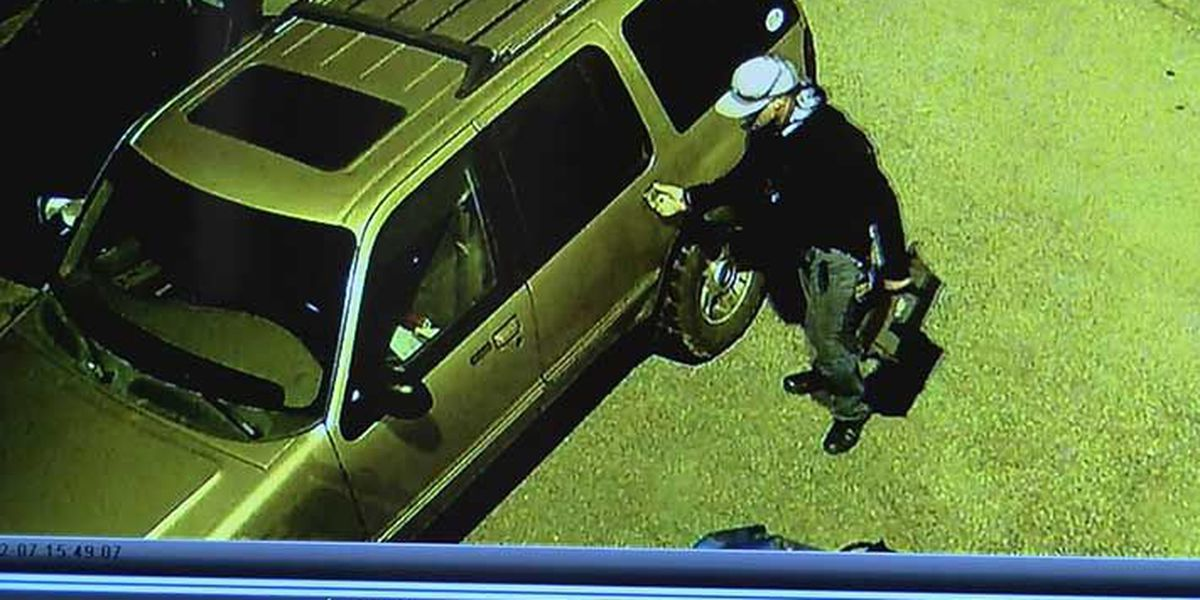 Local auto body shop asks public for help to find thief