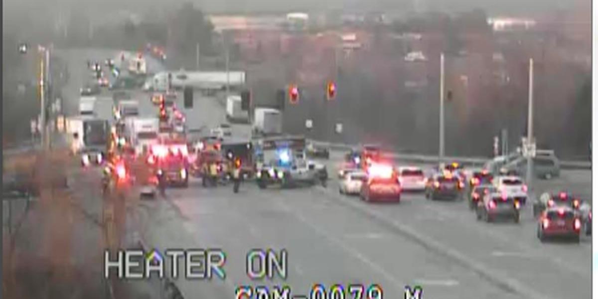 Traffic Alert: Crash slows commute near Old Henry Road, Gene Snyder Expressway