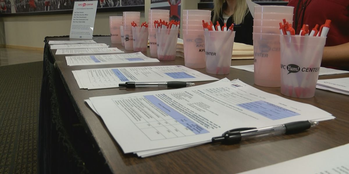 Fewer workers compete for Louisville jobs