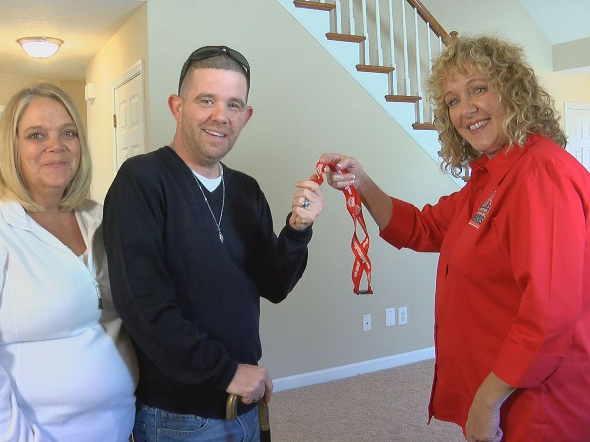Injured Veteran receives mortgage-free home, fresh start in Louisville