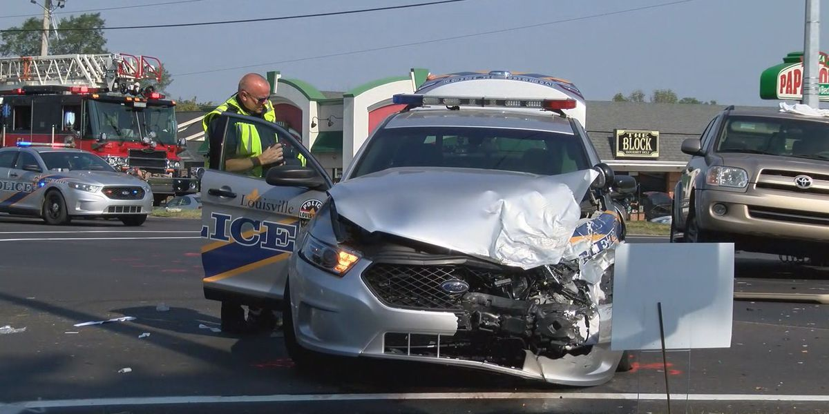 Robbery led to crash involved involving LMPD officer during pursuit