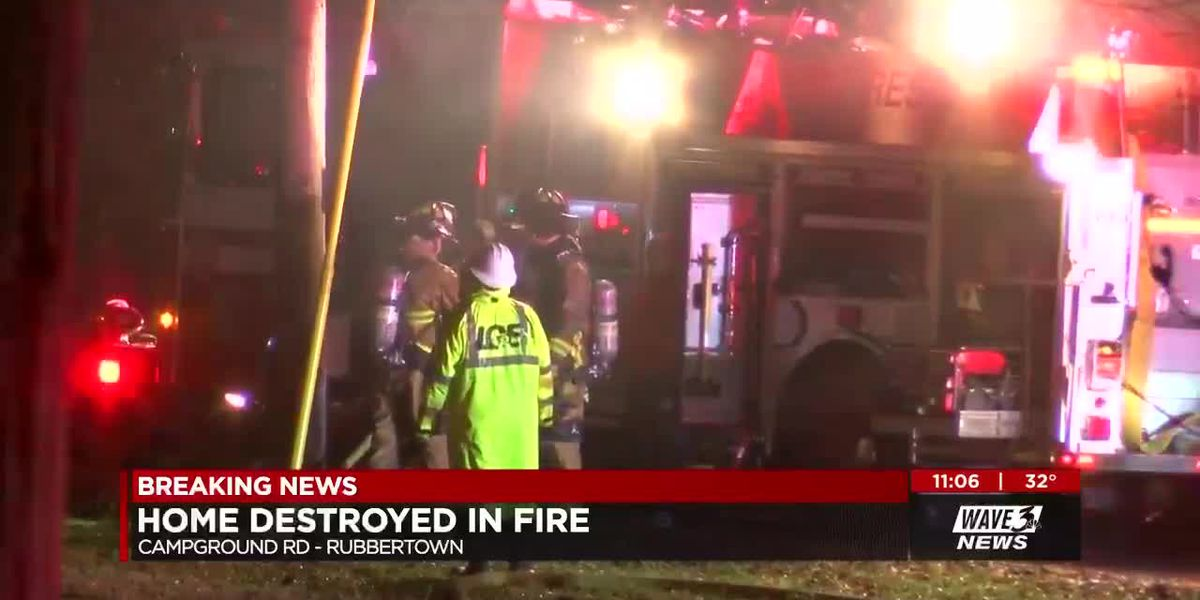 Fire destroys home; family displaced just before the holidays