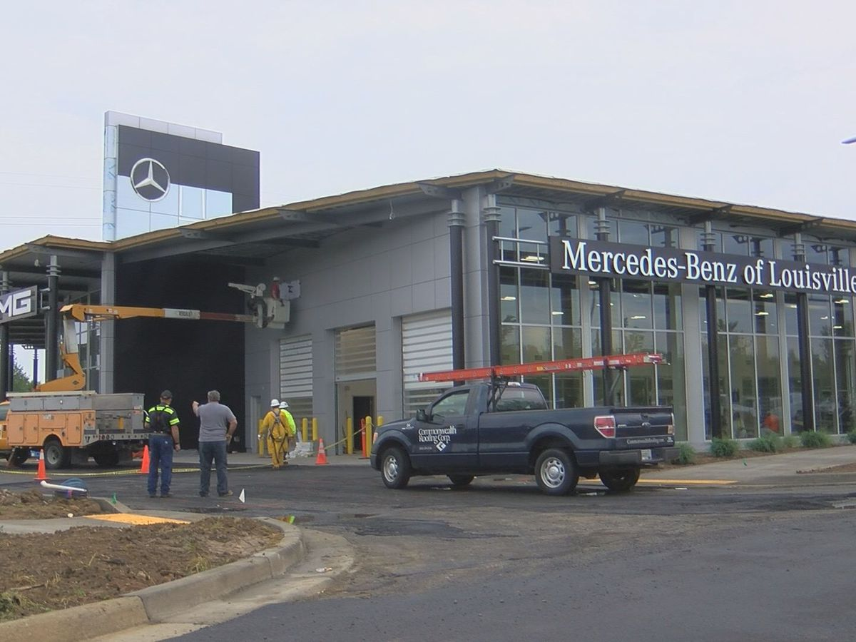 New Mercedes dealership opening in east Louisville