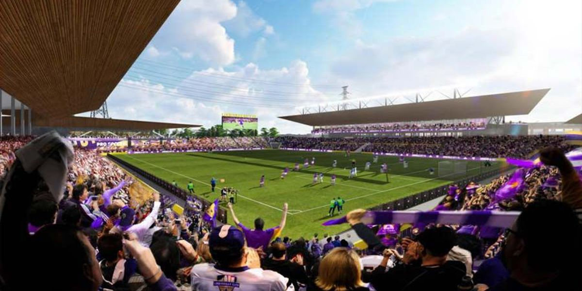 IMAGES: Renderings of the new Lou City FC soccer stadium