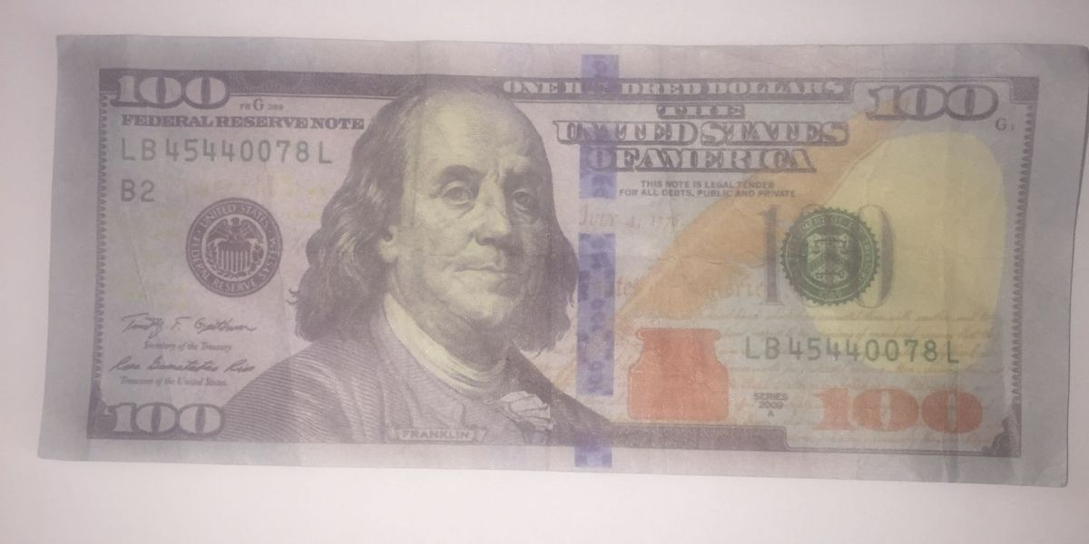 Funny money being passed in Washington County