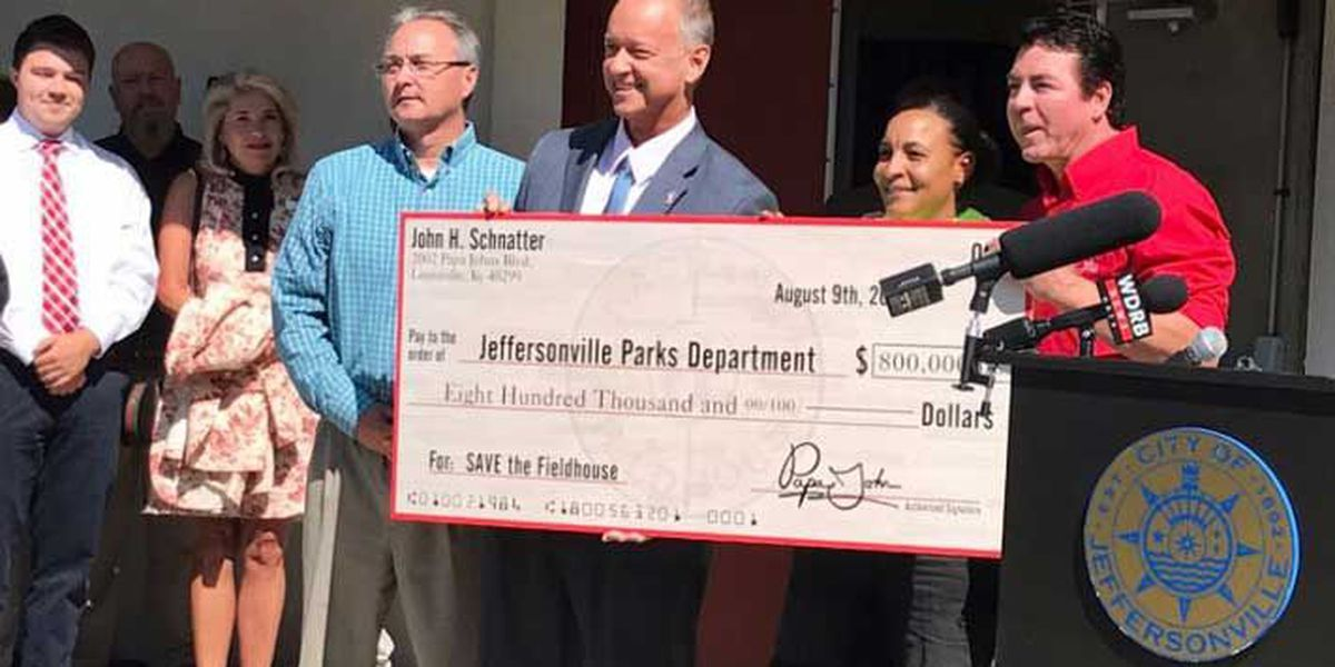 Papa John's CEO makes big donation to 'Save The Fieldhouse'