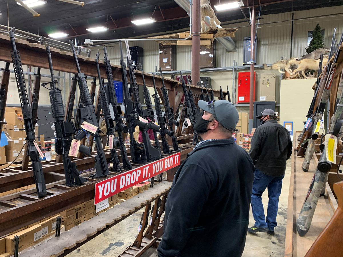 Anxiety, uncertainty drive record year in gun sales