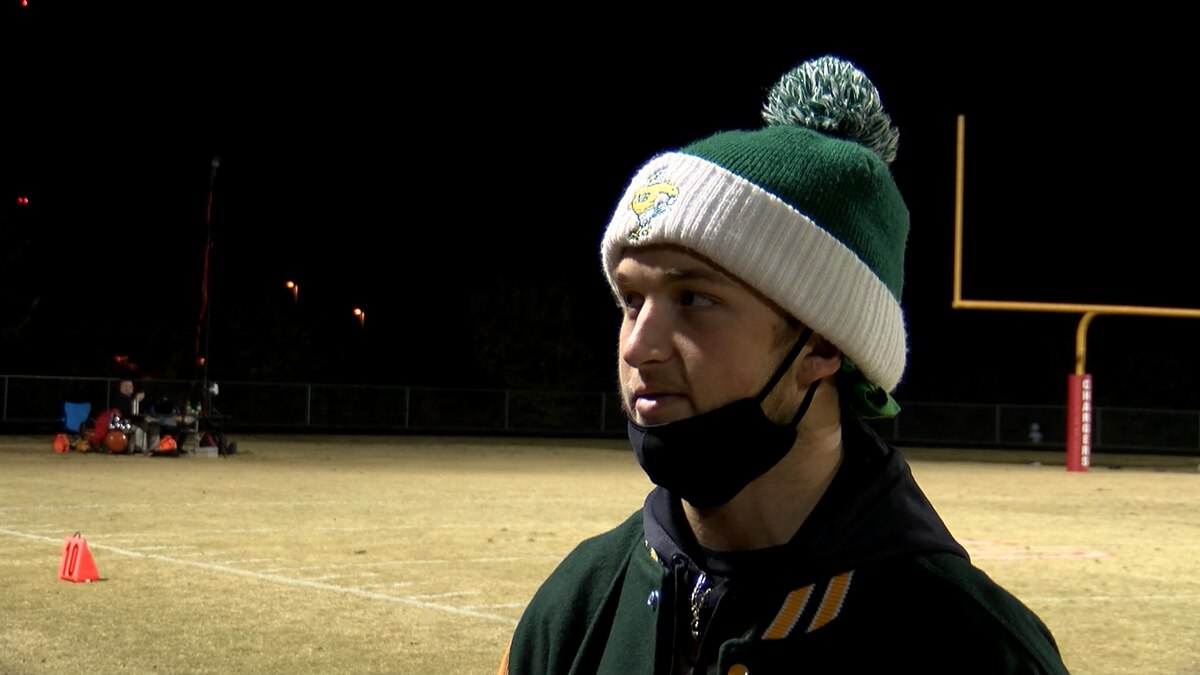North Bullitt football player sent to hospital for brain surgery returned to cheer on team for Bullitt Cup game