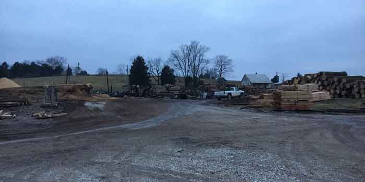 Crews fight Christmas Eve fire at Corydon sawmill