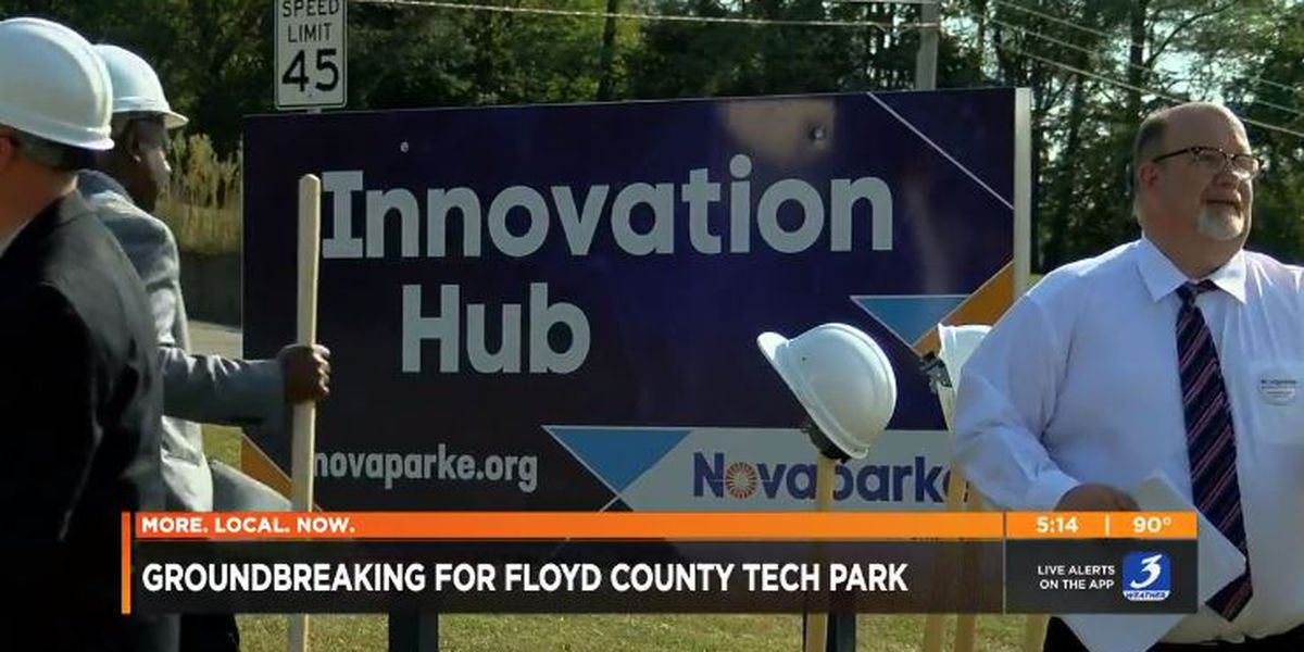 Floyd County groundbreaking aimed at luring new businesses, 400 jobs
