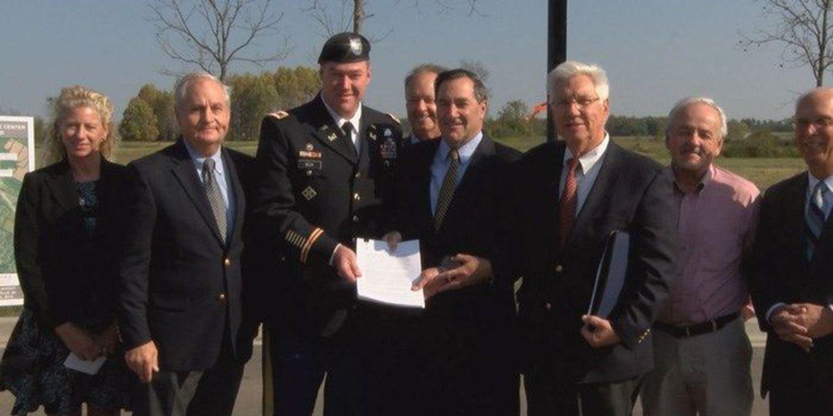 Army makes major land transfer to River Ridge Commerce Center