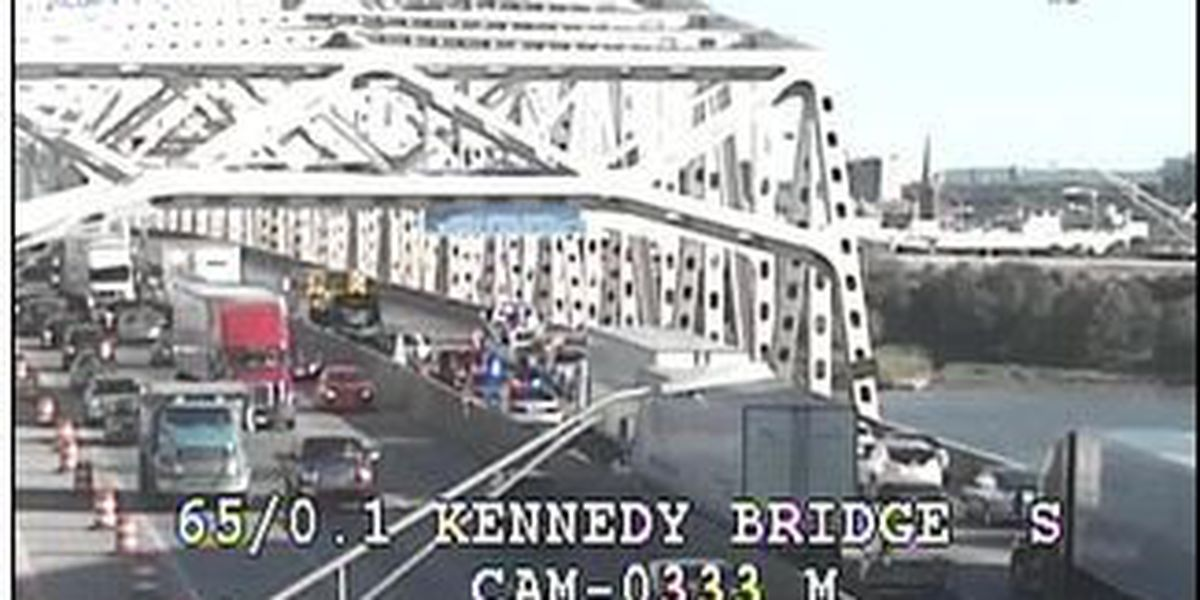 Lanes on Kennedy Bridge open after injury accident