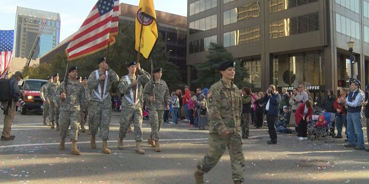 TRAFFIC ALERT: Street closures for Veterans Day parade