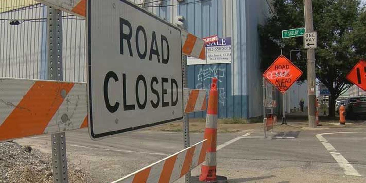 Sewer collapse causes heavy traffic, concern before potentially heavy rains