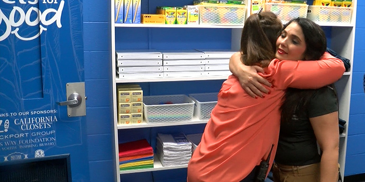 Closets for Good: Helping students succeed at Moore High School