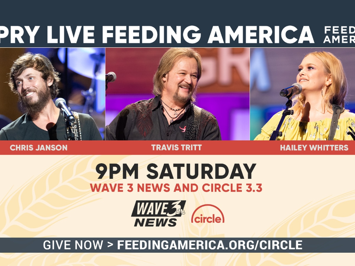 Saturday Night: WAVE 3 News to air live Opry broadcast benefiting Feeding America