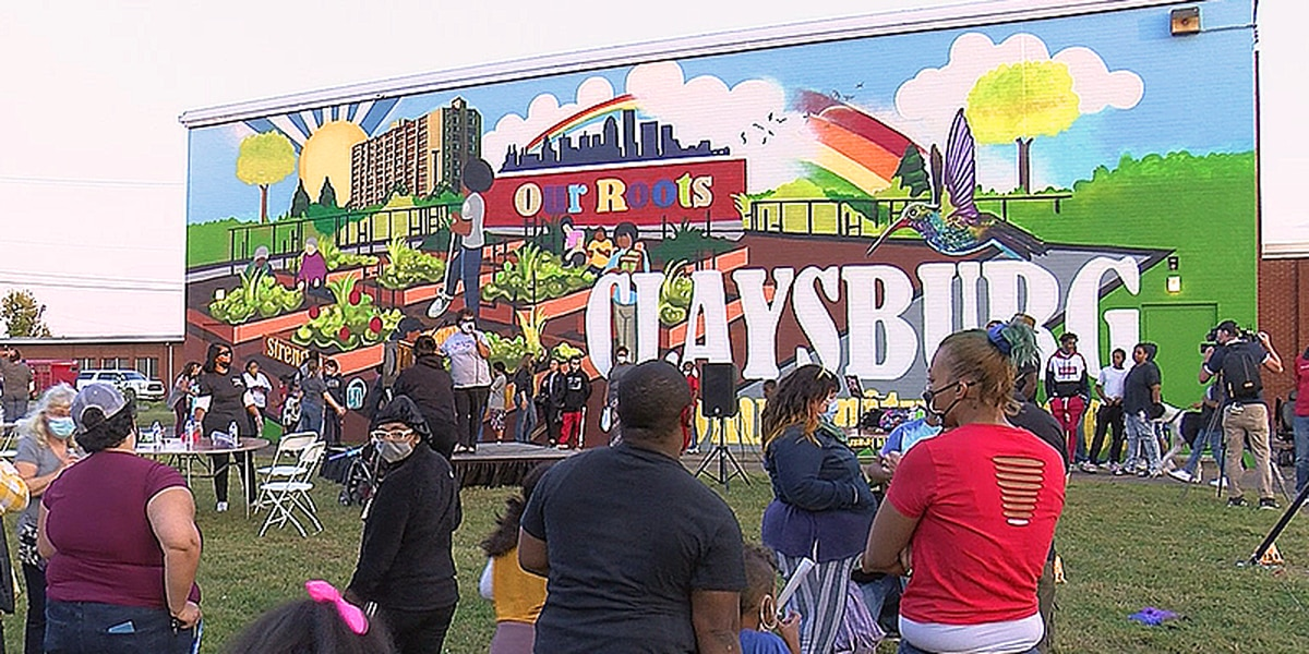 First mural unveiled in southern Indiana art series meant to uplift Black communities