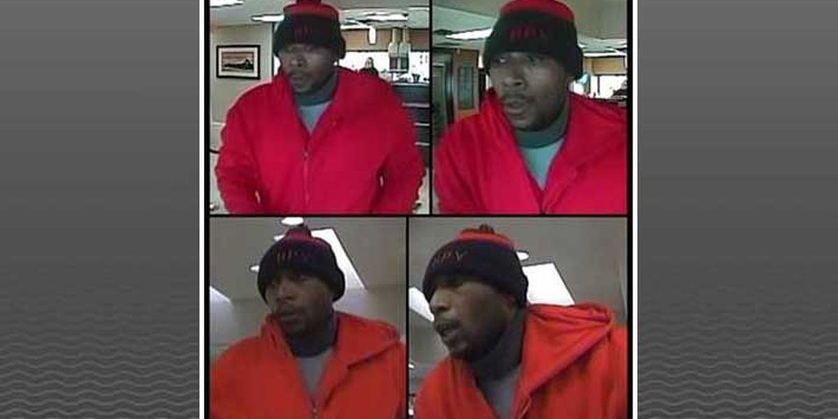Serial bank robbery suspect wanted by Louisville police
