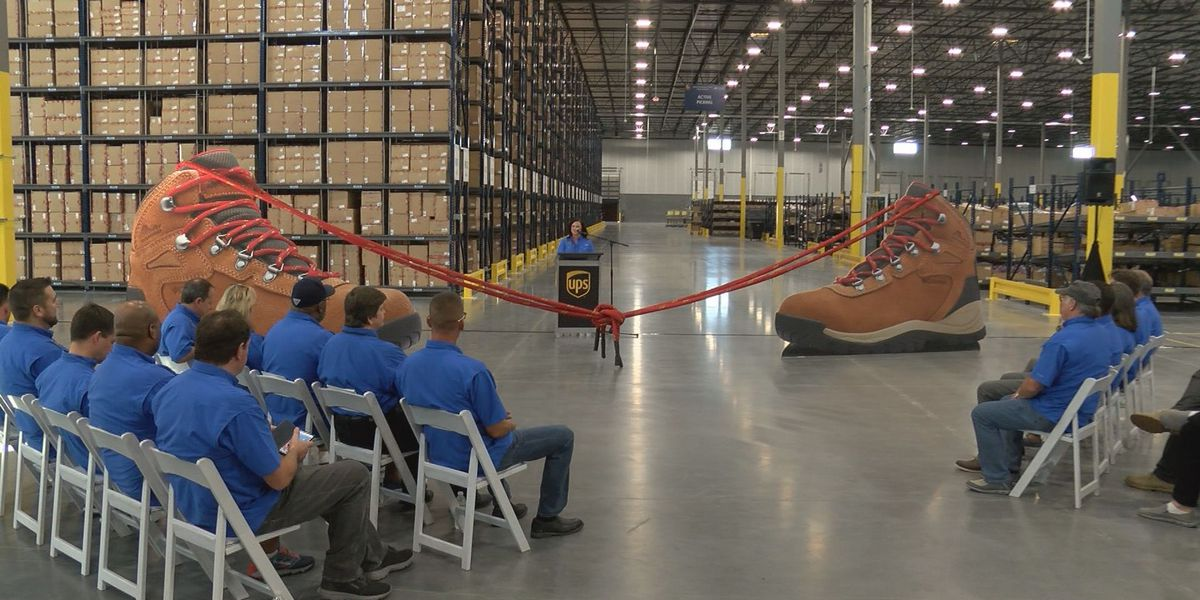 New UPS distribution center opened in Louisville
