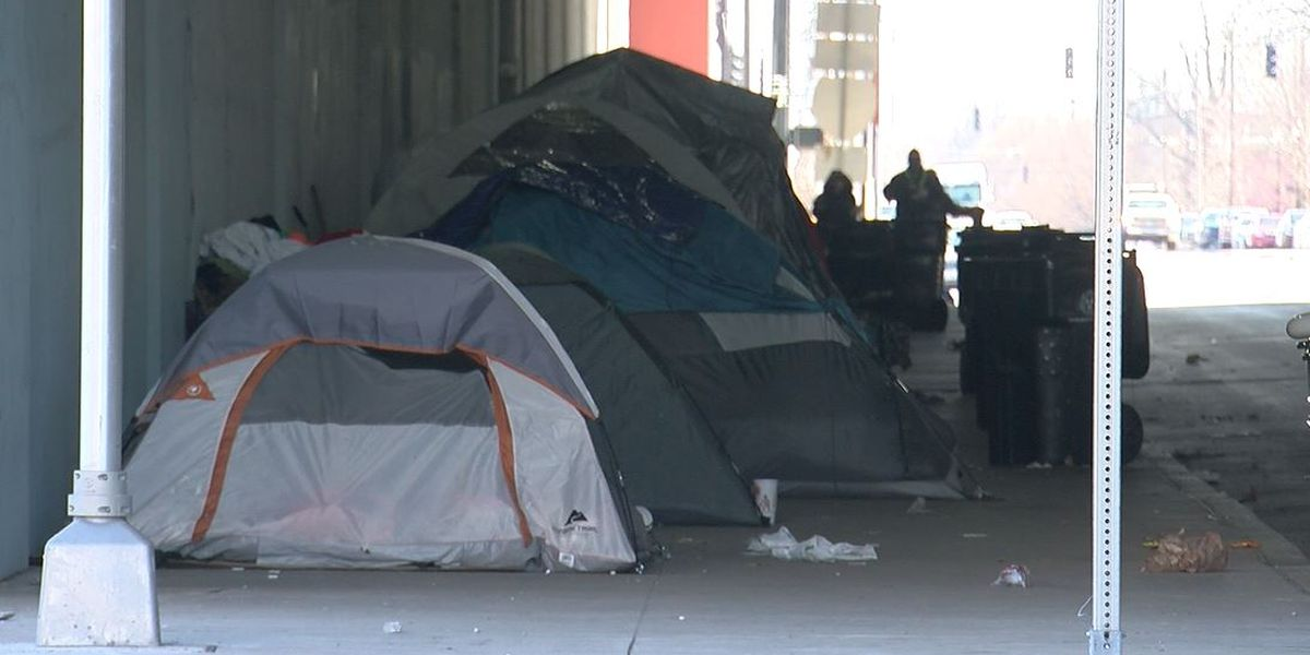 Louisville's homeless population has increased, but less are sleeping on the streets