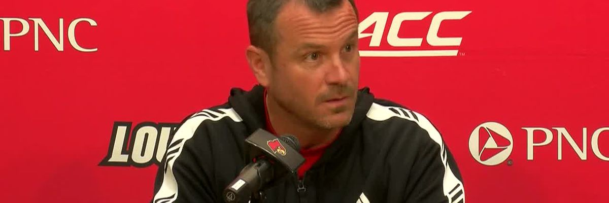 Jeff Walz's March 27 news conference