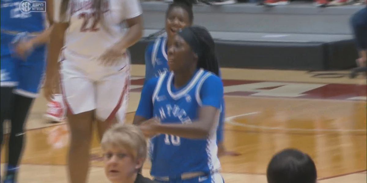 Howard's 43 point night leads #14 UK to 81-71 win at Alabama
