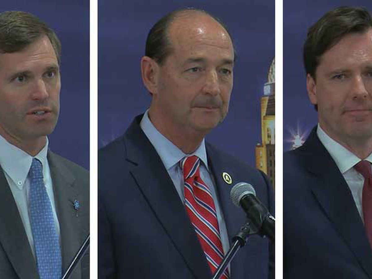 Democratic gubernatorial hopefuls look for votes in Louisville