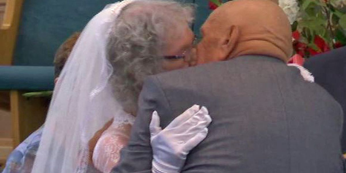 Groom, 95, and bride, 81, prove love stories can start at any age