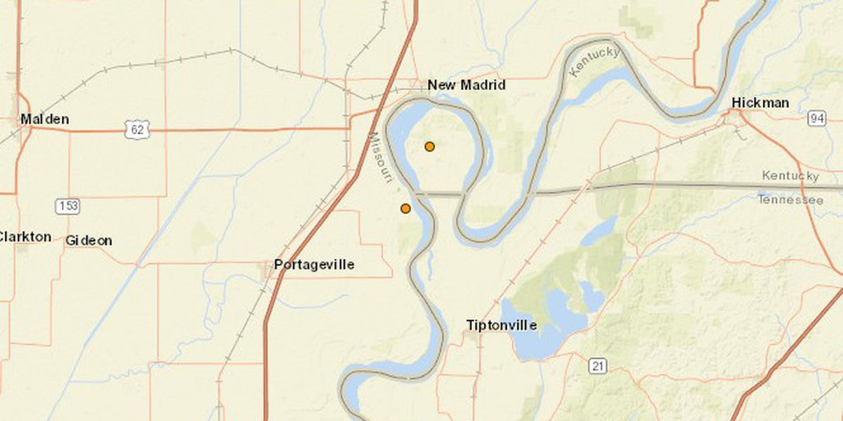 Small earthquakes registered in southeast Mo. and western Ky.