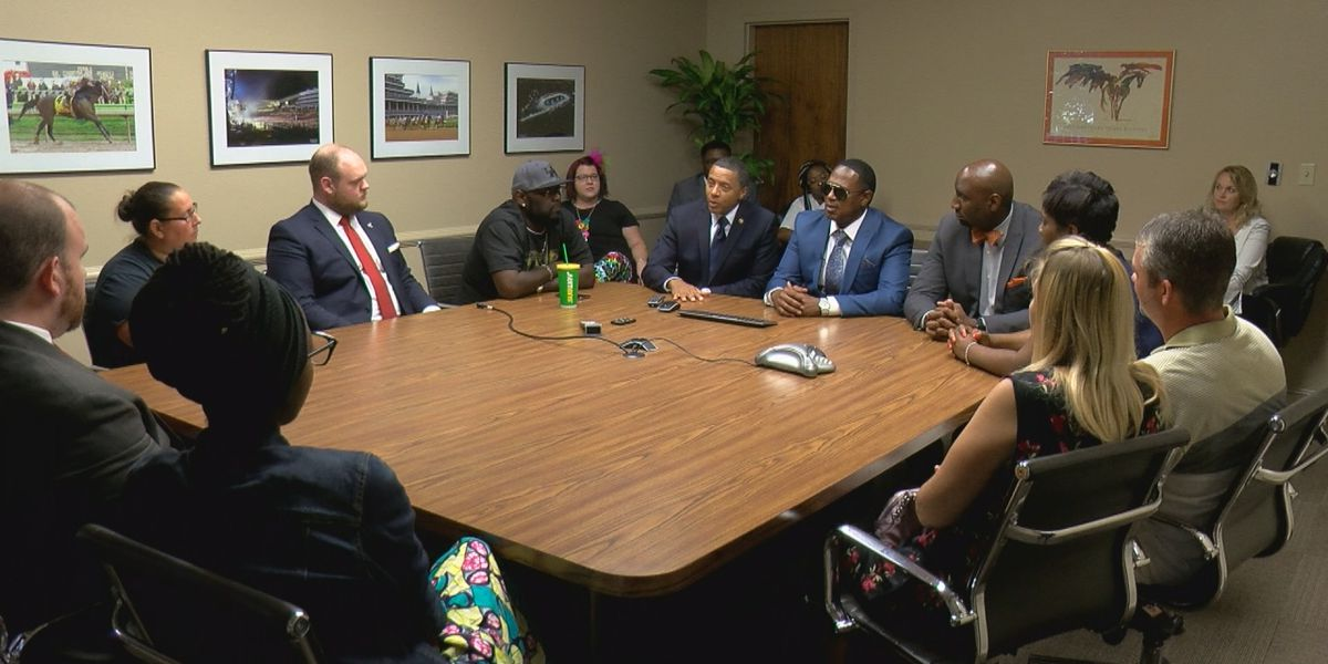 Master P meets with parents, leaders about education