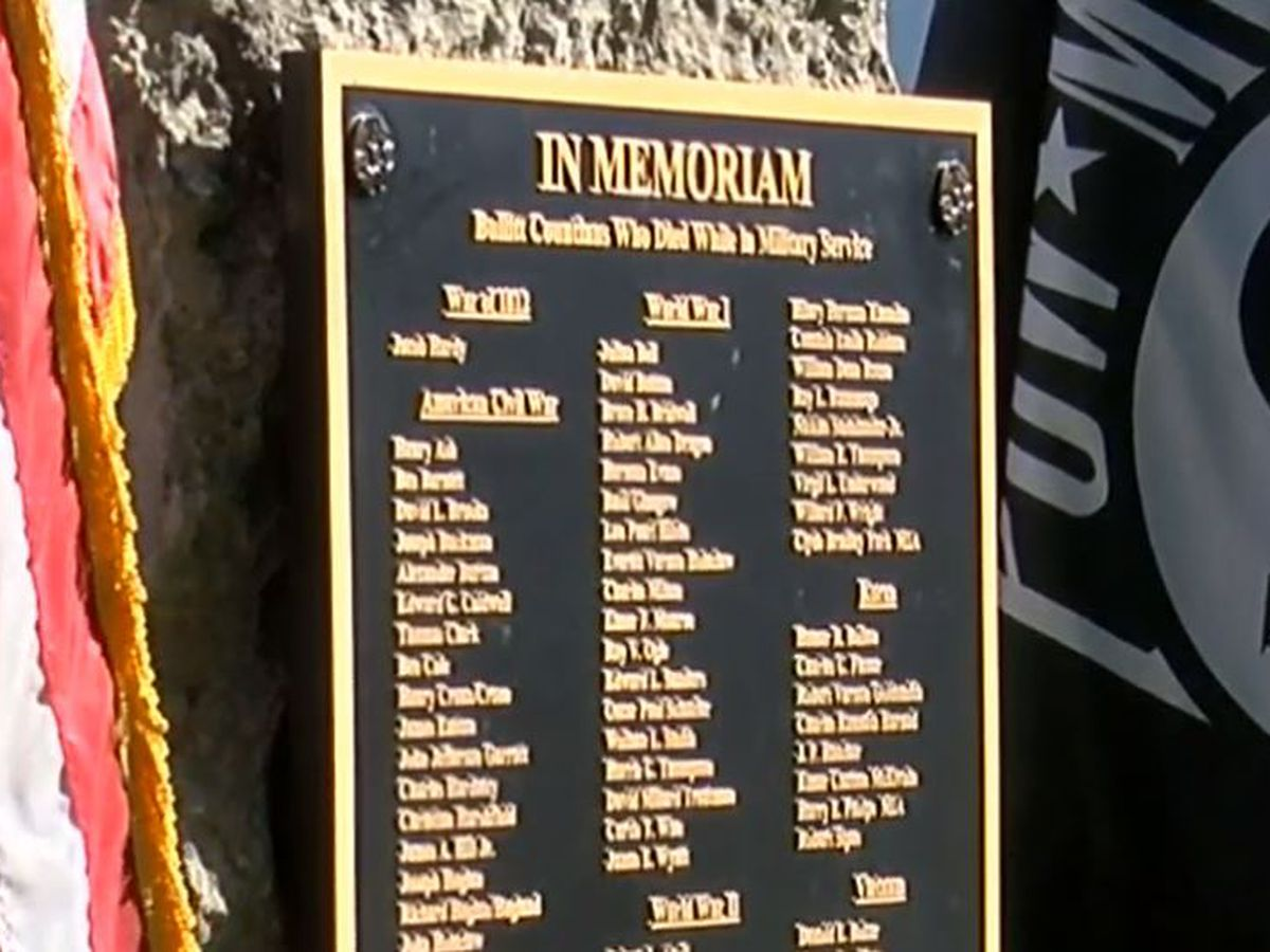 Plaque honors fallen Bullitt County military members
