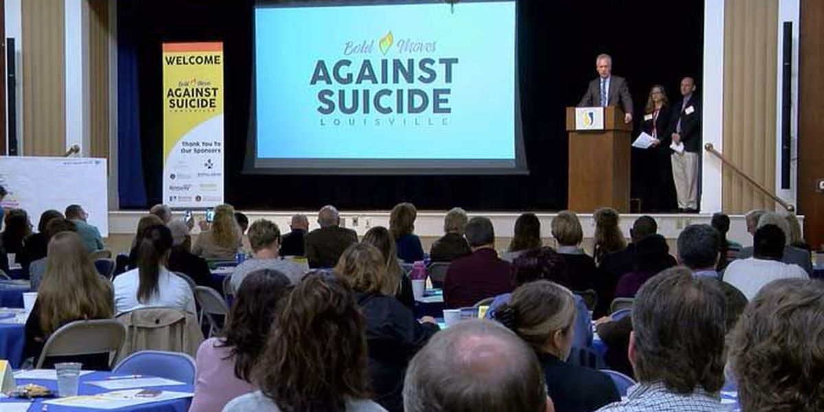 Summit aims to eliminate suicides in Louisville